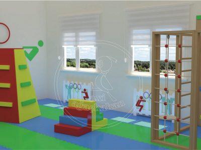 Anaokulu Mobilyası - Iç Mekan Oyun Ve Aktivite Alanı Iç Mekan Oyun Alanı, Tırmanma Parkuru